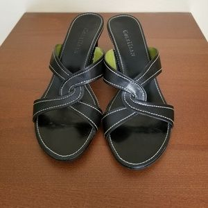 Cole Haan dress sandals in Blk size 7.5